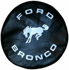 "SpareCover® ABC Series - FORD BRONCO 30"" BLACK Heavy Duty Vinyl Tire Cover"