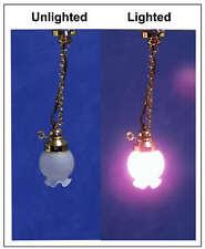 1/12, dolls house Miniature Lighting Light Hanging Gas floral Oil Lamp BN LGW