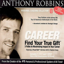 CD ONLY (ARTWORK/DIGIPAK MISSING) Anthony Robbins: Find Your True Gift: 3 Paths