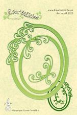 LEA 'STENTI Taglio & Goffratura Die-Frame Ovale-Spirali - 45.8923 - nuovo fuori