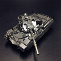 Hot Chieftain Tank MK50 Model 1:100 HKNANYUAN 3D Metal Puzzle Creative Toys Gift