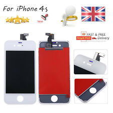 White For iPhone 4S Screen Replacement LCD Display Digitizer Touch Assembly UK