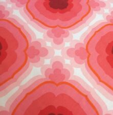 More details for vintage 1970s abstract / geometric design fabric...