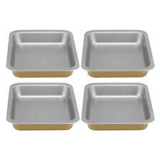 Berndes Metal Bakeware - Set of 4 Non-stick Medium Roasters - 32 x 24.5 cm