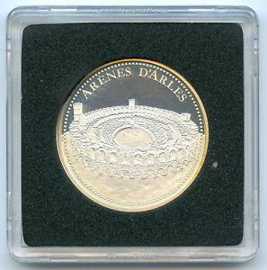 Les plus beaux trésors de nos régions Médaille argent PROOF Arènes d'Arles