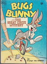 BUGS BUNNY #281 1950 -THE GREAT CIRCUS MYSTERY VG- 52p DELL  4-COLOR