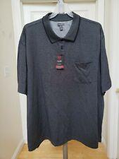 Van Heusen Flex Natural Stretch Big and Tall Sz 4XL  Polo Shirt Short Sleeve New