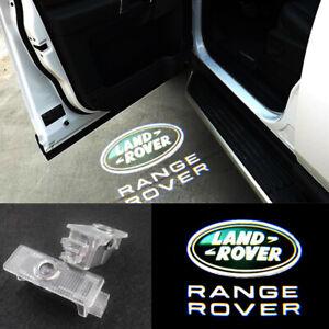 2pcs LED Door Land Rover Logo Courtesy Laser Lights For Range Rover 2003 - 2019