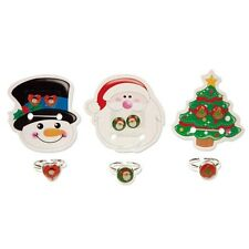 Kinderschmuck Kinderring Ring Ohring Weihnachten Schneemann Tanne Weihnachtsmann