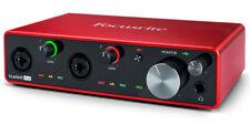 Focusrite Scarlett 4i4 3rd Gen Interface Audio USB - (0815301005186)