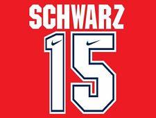 Schwarz #15 Arsenal Camisa de fútbol local para hogar 1994-1995