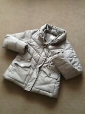 Next warm winter jacket, grey size 12