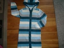GYMBOREE SIZE 6 FALL COAT JACKET WINTER SWEATER WARM HOODY MY BEST FRIEND BLUE