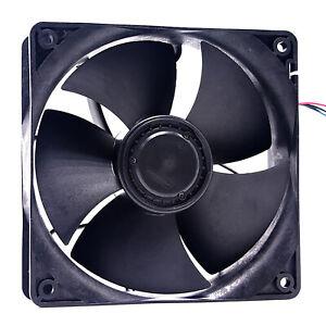 For Nidec W12E12BS11B5-07 57 13038 Cooling Fan Black 12V 1.65A S7 S9 Cooling Fan