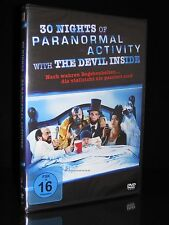 DVD 30 NIGHTS OF PARANORMAL ACTIVITY WITH THE DEVIL INSIDE - Horror-Komödie *NEU