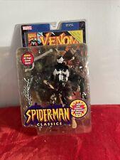 VENOM Spider-man Classics Series 1 Action Figure Marvel Legends Toy Biz 2000 New