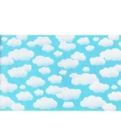 "Roselle Paper Sunny Sky Big Clouds Border Craft Roll 10"" by 30 ft Set 2 Rolls"
