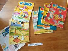 Lot 9 Magazines Donald Series Collection Book Comics Super Scrooge Giant