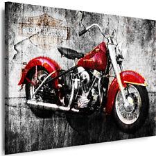 Bild Harley Davidson Leinwand Poster Wandbild Kunstdruck XXL 120 cm*80 cm 474