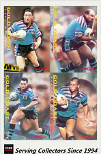 1996 Dynamic Rugby League Series 2 Cards BASE TEAM SET-- GOLD COAST CHARGERS(9)