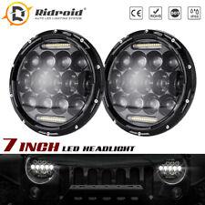 280W 7 Inch LED Headlights DRL Hi-Lo Sealed Beam For Jeep Wrangler JK TJ CJ LJ
