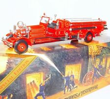 Matchbox 1:43 Models Of Yesteryear AHRENS-FOX FIRE ENGINE 1930 #YSFE01 MIB`94!