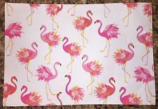 Pink Flamingo Indoor/Outdoor Single Placemat by Designer Cynthia Rowley New York