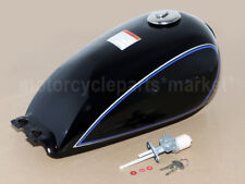 For Suzuki GN125 GN 250  9L 2.4 Gallon Fuel Tank Gas Protection Cover Motorcycle