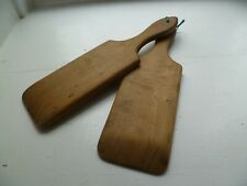 Antique  butter paddles