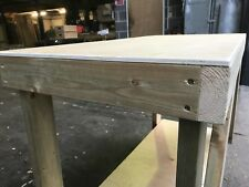 4ft PLYWOOD TOP STRONG & STURDY WORKBENCH. GARAGE. SHED. DIY. STORAGE