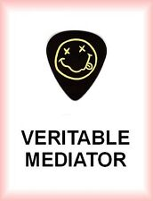 NIRVANA         MEDIATOR      medium     SMILE  PLECTRUM  guitar pick