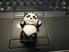 Vtg Rare 1988 Animal Lovin' Barbie Doll Baby Panda Bear Plastic Toy Figure Cute!
