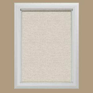 """NEW Bali Cut to Size Light Filtering Roller Shade 37.25"""" x 72"""" Oatmeal"""
