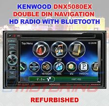 KENWOOD DNX5080EX DOUBLE-DIN NAVIGATION / HD RADIO WITH BLUETOOTH REFURBISHED