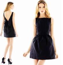 NWT Pearl Georgina Chapman of Marchesa 8 Little Black Dress Big Bow Black Formal