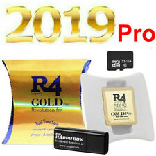 2020 R4 Gold Pro SDHC for DS/3DS/2DS/ Revolution Cartridge 32G Card+500 Game UK