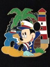 Disney Pin Disney Cruise Line Mickey on Island with Lighthouse LE 250