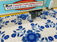New Quilting Master IV (H) Computer Guided Full Frame Quilting Machine