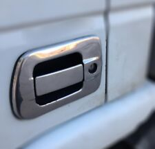 IVECO Stralis Door Handle Covers Super Polished Stainless Steel 4 Pcs