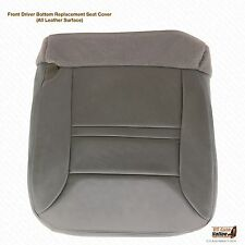 2000 Ford Excursion Limited Driver Replacement Bottom Leather Seat Cover Gray H2