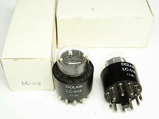 7 X nos lc-516-lc 516 Nixie Tubes-dolam-boxed-1980