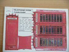 British Telephone Kiosk Type K6 (Jubilee Kiosk) Postcard