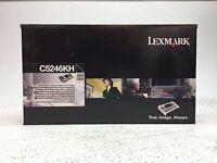 GENUINE Lexmark Black High Yield Return Program Print Cartridge C5246KH - NEW