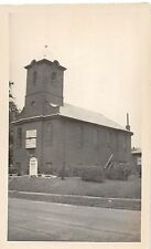 Ohio Postcard Real Photo RPPC c1940s GIRARD First CHurch of the Nazarene