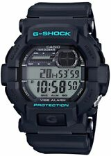 Casio G-Shock Mens Vibration Alarm Black Watch GD350-1C
