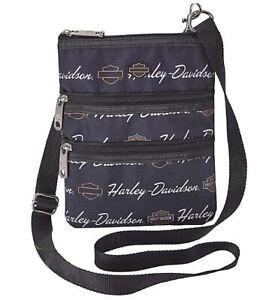 Harley-Davidson Women's Signature Crossbody Sling Bag Bag 99616-SIGNATURE