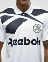Reebok Vector Retro Polo Shirt Mens White Size L