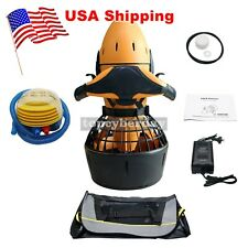 300W Electric Diving Sea Scooter Dual Speed Underwater Waterproof No Battery Us