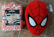 Marvel Spiderman TWIN Sheet Set and Decor Pillow ~ NEW