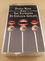 Diana Ross & The Supremes : 20 Golden Greats : Cassette Tape Album From 1977